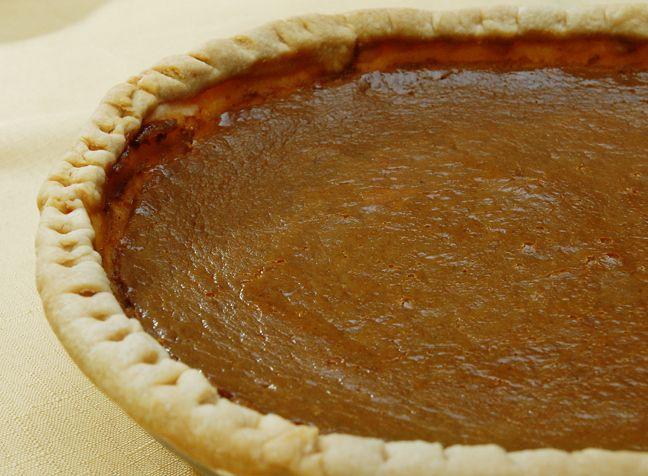 Maple-Bourbon Pumpkin Pie | Yummers. | Pinterest