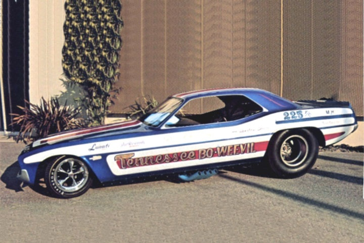 Tennessee bo wevil cuda funny car old cars trucks for Jerry allen motors beaumont tx