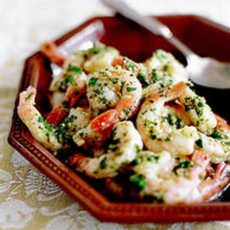 Shrimp Scampi-Style. I served this with pasta. Really good!