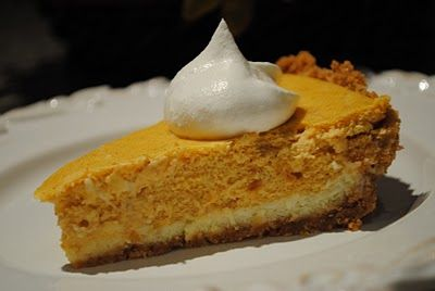 ... is for you. Could it be? Yes it is: Double Layer Pumpkin Cheesecake