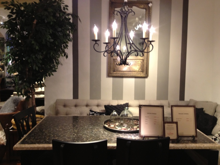 dining room banquette arhaus furniture for the home pinterest