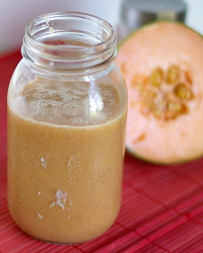cantaloupe and peaches smoothie | fOOd | Pinterest
