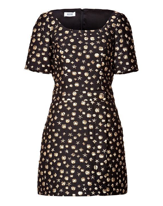Shop now: Moschino Cheap and Chic embellished stars dress