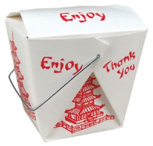 Party Favor Chinese Take Out Boxes : Pagoda pint chinese take out box oz food pail party