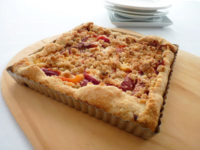 pastry studio: Nectarine Crumb Tart | Cooking/meals | Pinterest