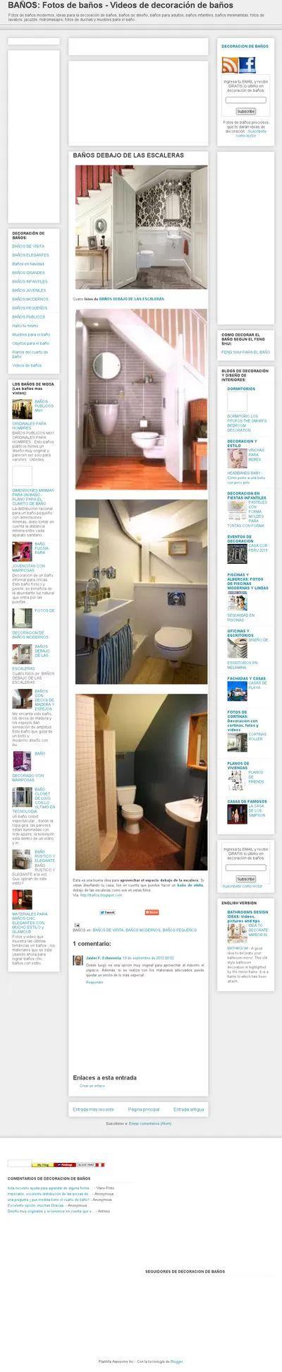 Baño Debajo Escalera:baños_debajo_de_escalera – Google Search