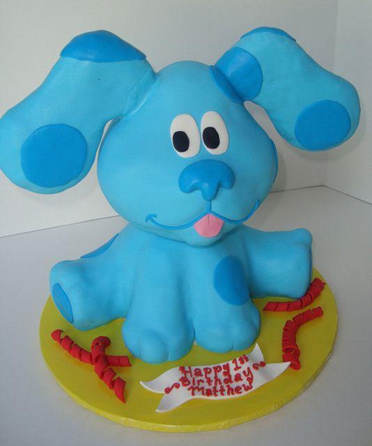 Big Blues Clues cakes photos