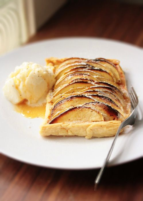 Custard Apple Tart Recipe — Dishmaps
