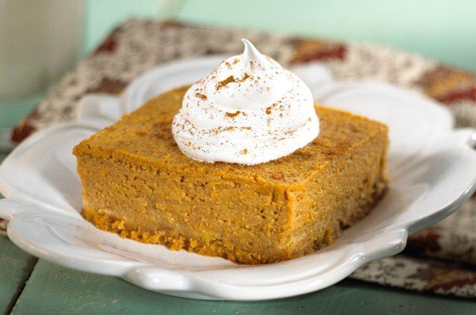 Pumpkin Custard w/ Shortbread Crust   Recipes I'd like to try   Pinte ...