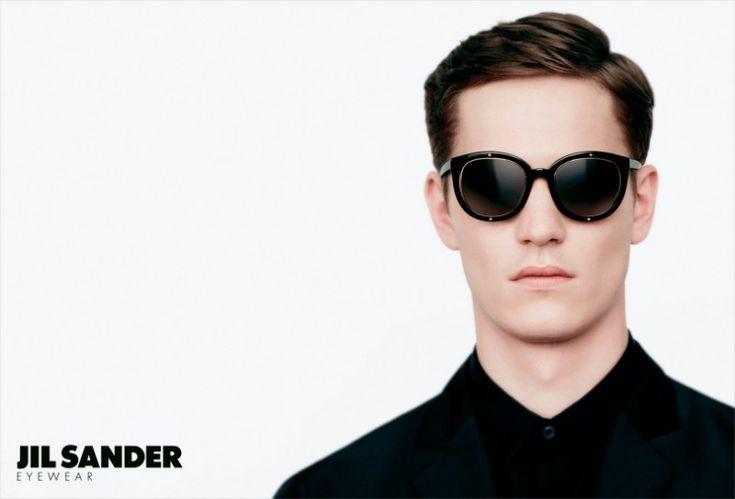 Peter Bruder Gets Framed for the Jil Sander Fall/Winter 2012 Eyewear Campaign