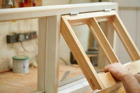 how to stop daughts on wooden windows
