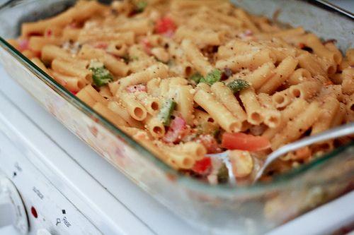 real simple lasagna style baked ziti