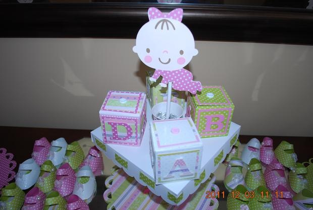 cricut baby shower ideas