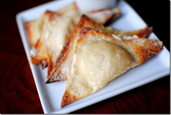 Lighter} Baked Crab Rangoon Recipe | Remarkable Recipes | Pinterest