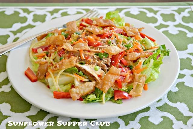 Sweet Chilli Asian Chicken Salad | Salads All Type | Pinterest