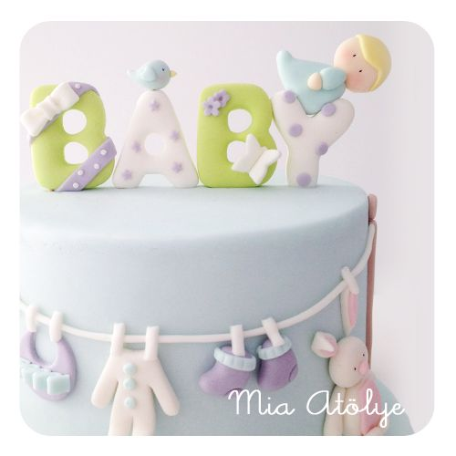 baby shower cake clothes line baby cakes pinterest