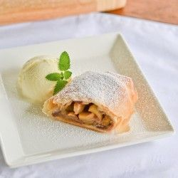 Apple Strudel w/ Cranberry | Blogger Recipes | Pinterest