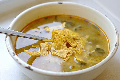 Tomatillo Chicken Soup | Delicious {recipes} | Pinterest