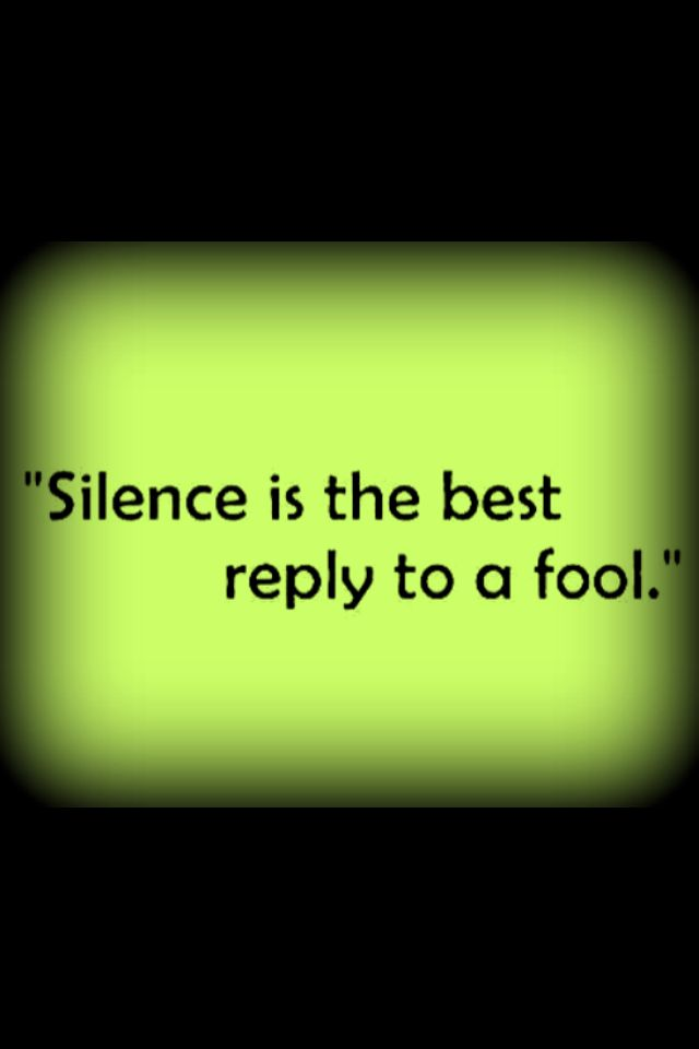 The Beauty Of Silence Essay