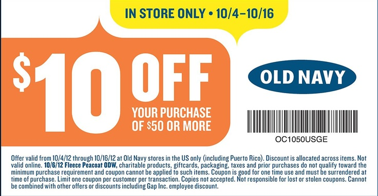 Old navy app coupons
