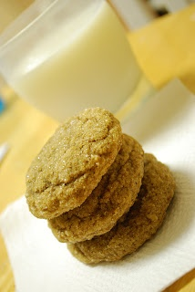 Pumpkin Gingersnap Cookies | favorite recipes | Pinterest
