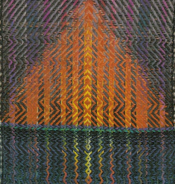 Ted Hallman weaving
