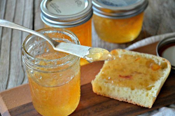 Brandied Vanilla Pear Jam Recipe — Dishmaps