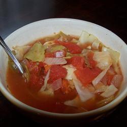 Healing Cabbage Soup Allrecipes.com