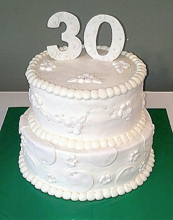 30th Anniversary Cake Ideas 59764