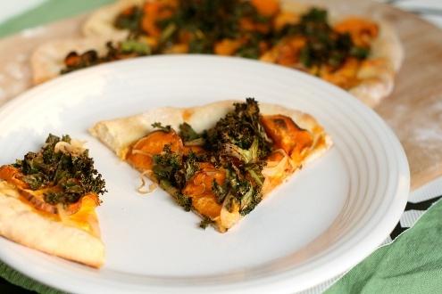 Sweet potato kale pizza. | Cooking | Pinterest