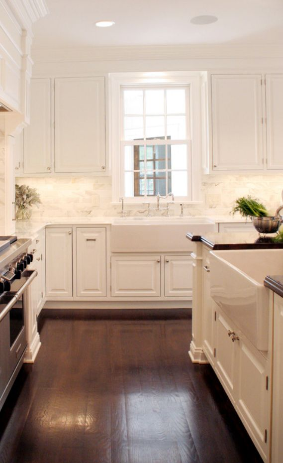 Oversized Farmhouse Sink : Large Farmhouse Sink country kitchen Pinterest
