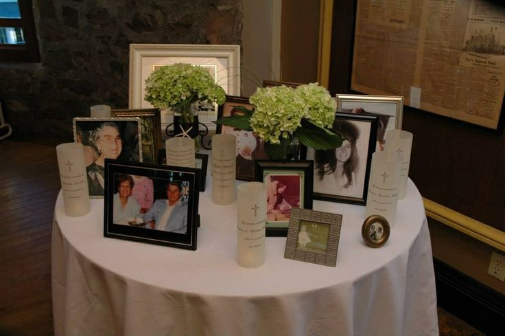 Wedding Memorial Table Wedding Ideas Pinterest