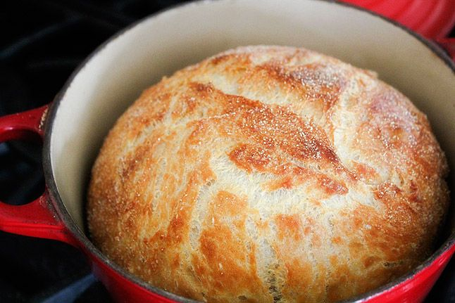 No-Knead Bread--texture and flavor wise, this is the winner--3C. bread ...