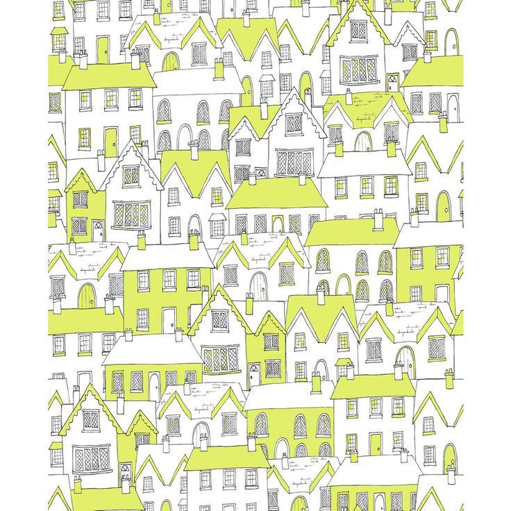Sanderson Tapete Dandelion : Fresco Village Wallpaper Green 50-609 Wilko Sustain Range Pintere