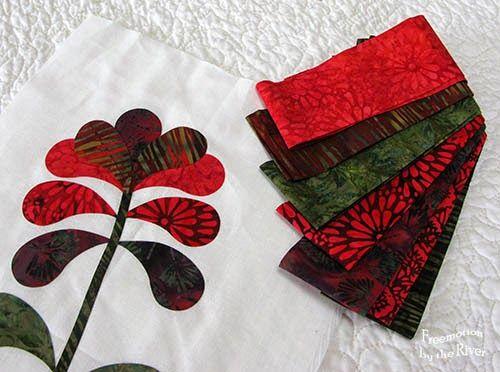 Island batik Berry Christmas fabrics   applique quilts   Pinterest