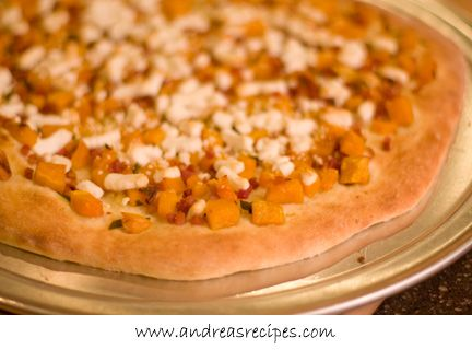 Butternut Squash with Pancetta Pizza Serves 8 Cal 179, Fat 11.5, Carb ...