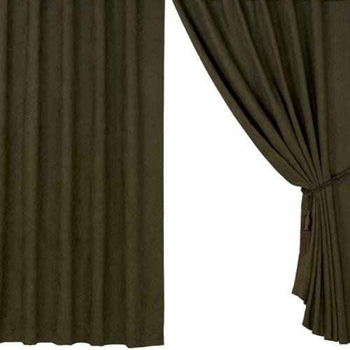 Outdoor Bamboo Curtain Panels Faux Suede Crafts
