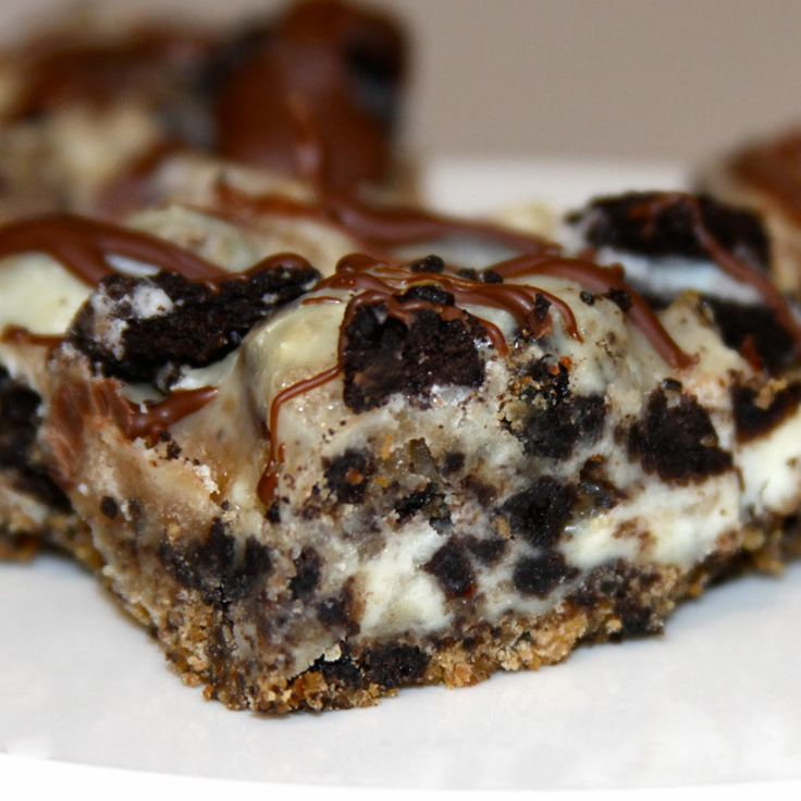 Cookie Dough Cheesecake Bars | Favorite Recipes | Pinterest