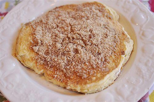 TodaysMama.com - Cinnamon Streusel Pancakes