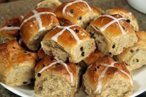hot cross buns cityline with video | Baking | Pinterest