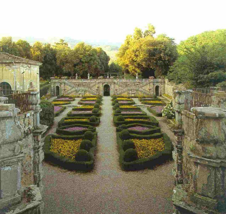Italian garden, Villa Torrigiani, Capannori, Lucca, Italy