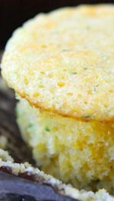 Zucchini Cheddar Corn Muffins Recipe — Dishmaps