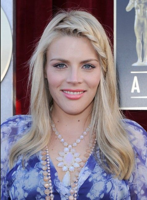Busy Philipps Trendy Long Straight Hairstyles