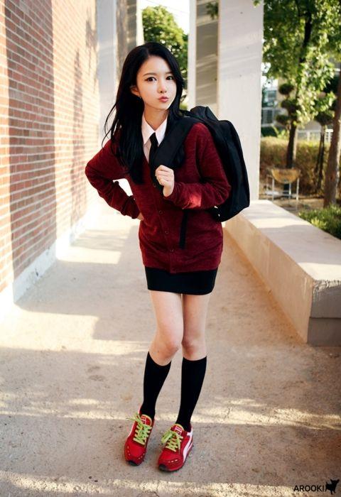 Ariska Pue 39 S Blog Korean Fashion School Uniform Pinterest