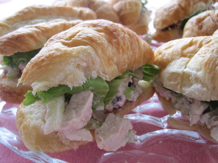 Cranberry Walnut Chicken Salad | Recipe