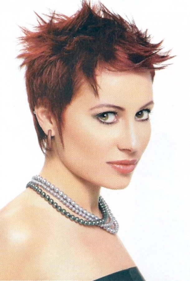 pictures of spiked haircuts for women   Very Short Edgy Spikey Haircut ...