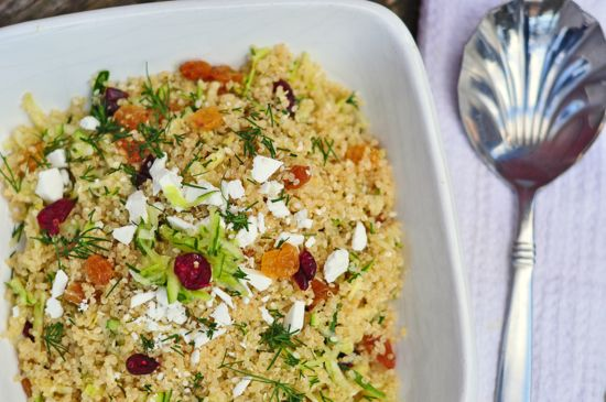 Maria Speck's lemon quinoa with currants, dill and zucchini Ancient ...
