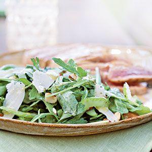 Arugula and Celery Salad with Lemon-Anchovy Dressing | MyRecipes.com