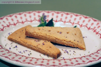 Buttery Shortbread with Anise Hyssop | Biscuits, Muffins, Quick Bread ...