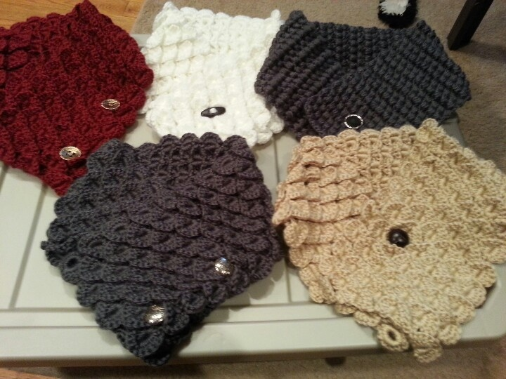 Crochet Neck Warmer : Crochet neck warmers crochet Pinterest